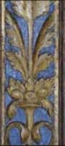 Renaissanceretabel Detail Endzustand