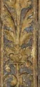 Renaissanceretabel Detail Zwischenzustand