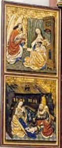 Restaurierung des linken Altarflügels