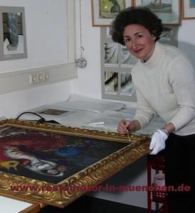 Gemälderestaurierung von Marc Chagall