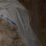 Pastell Detail: Schleier
